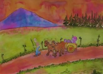 Costa Rica Ciencia Ficcion 2018 - Watercolor (2)