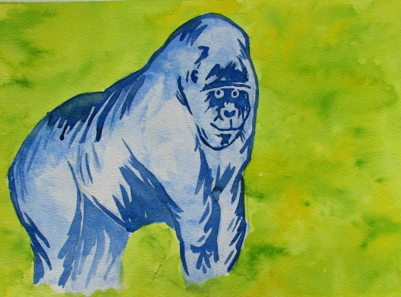 Gorilla Watercolor 2015 (2).JPG